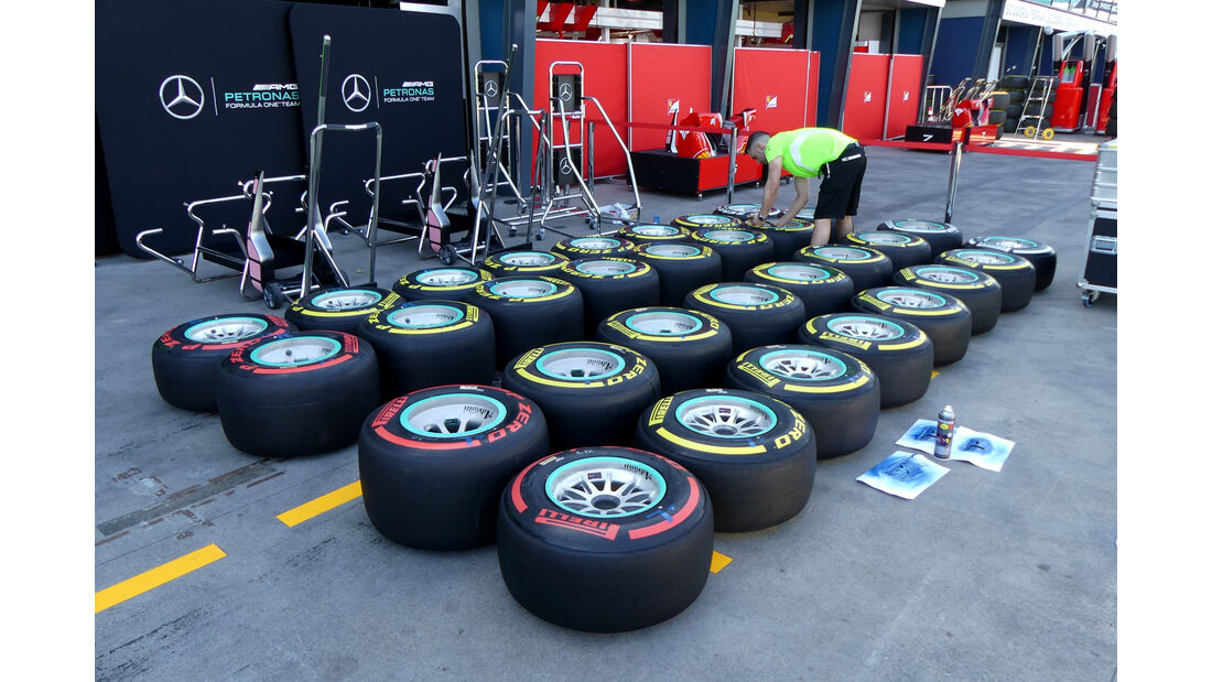 Mercedes - GP Australien - Melbourne - 16. März 2016