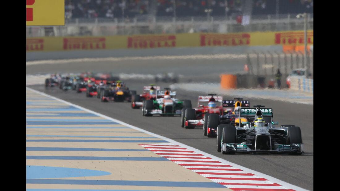 Mercedes GP Bahrain 2013
