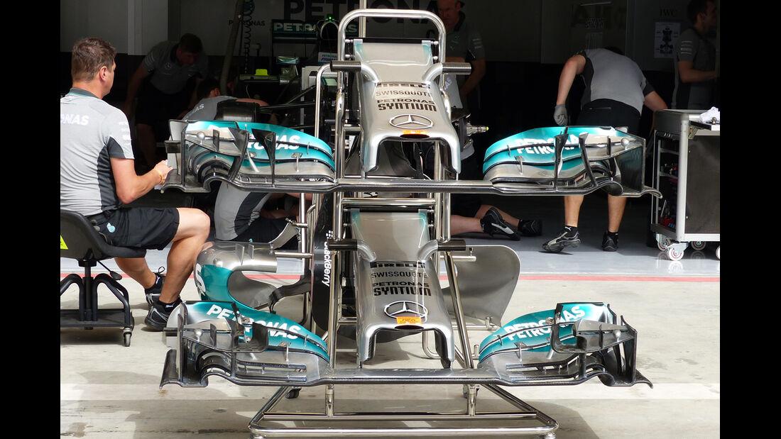 Mercedes - GP Bahrain 2014 Technik