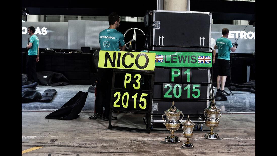 Mercedes - GP Bahrain 2015