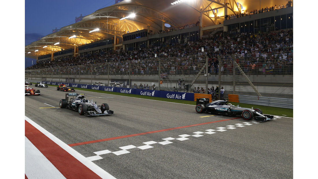 Mercedes - GP Bahrain 2016
