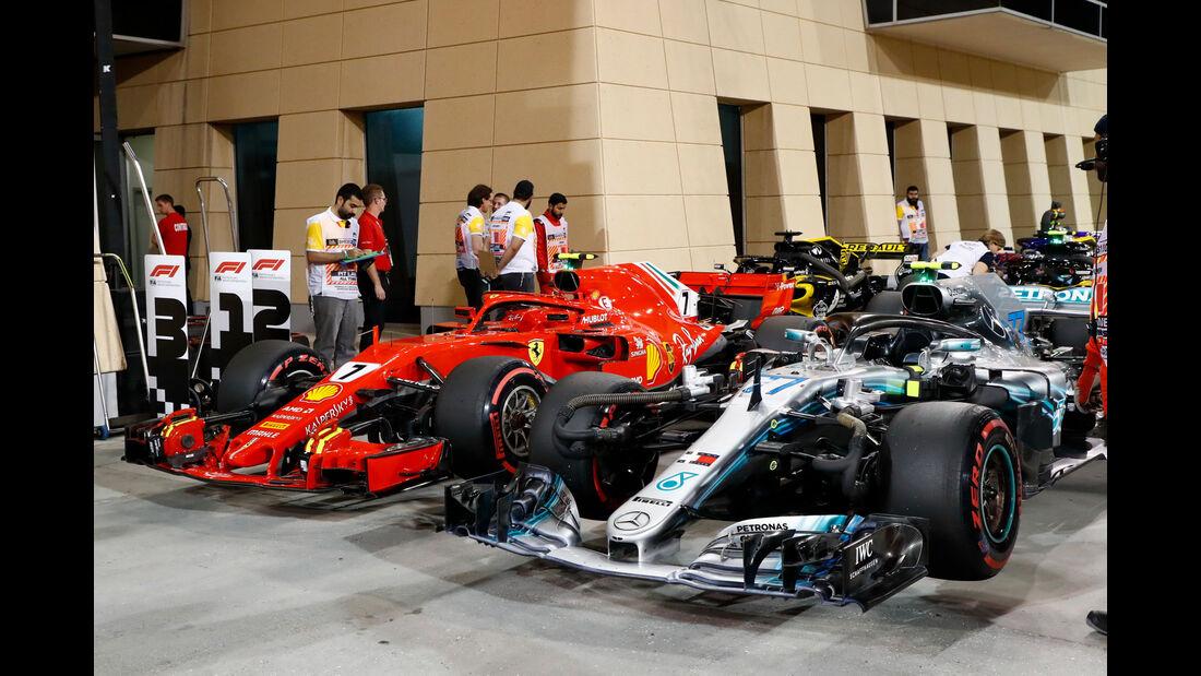 Mercedes - GP Bahrain 2018