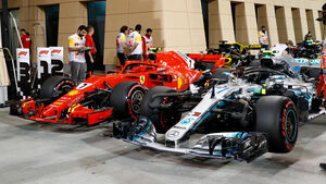 Mercedes - GP Bahrain 2018