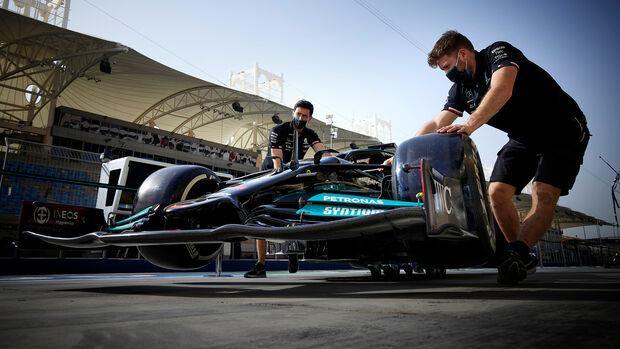 Mercedes - GP Bahrain 2021