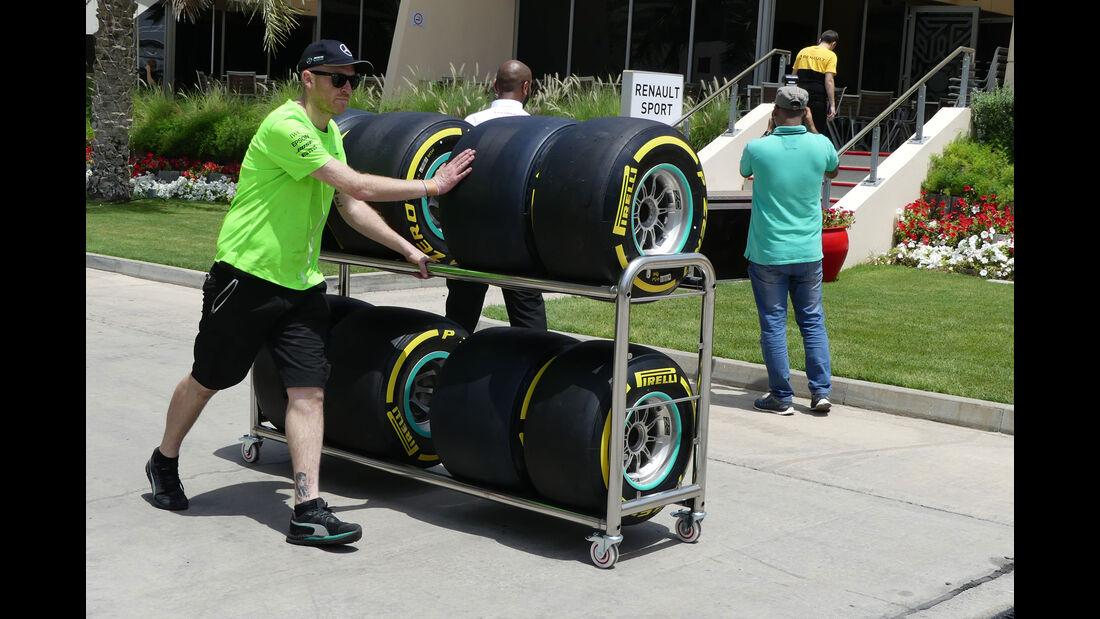 Mercedes - GP Bahrain - Sakhir - Mittwoch - 12.04.2017