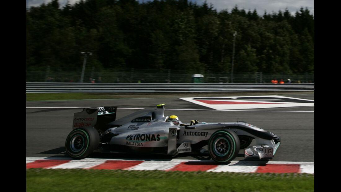 Mercedes GP Belgien
