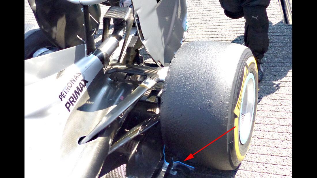Mercedes - GP Belgien 2015