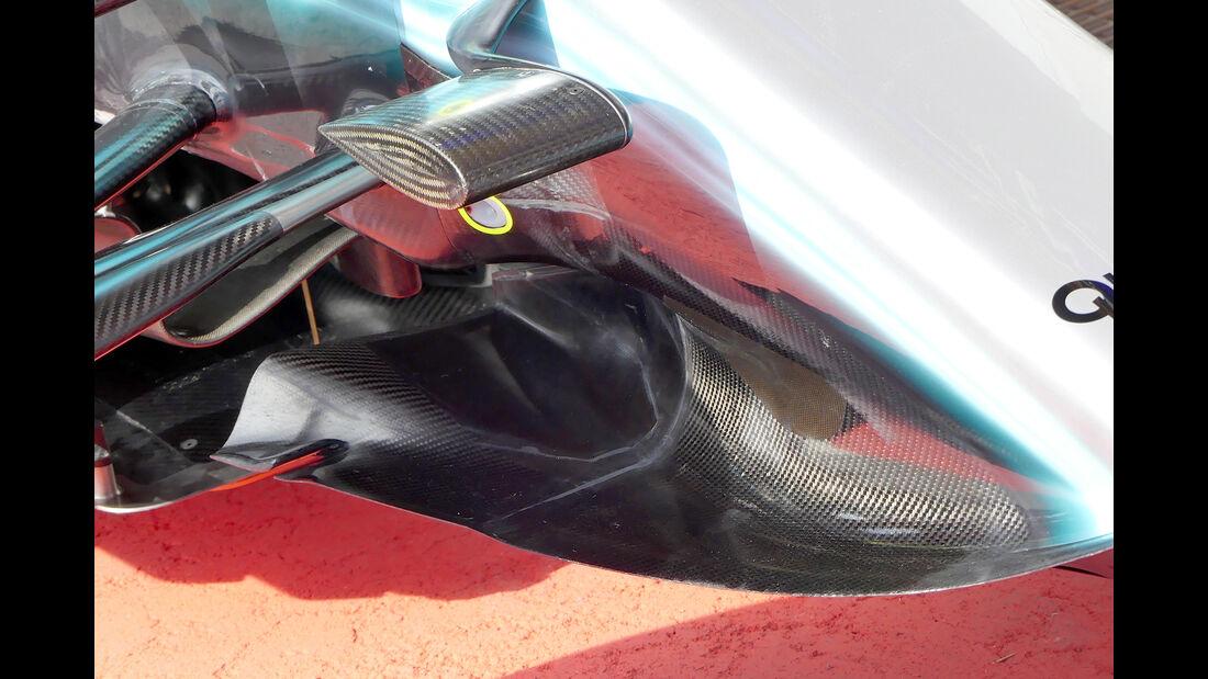 Mercedes - GP Belgien - Spa-Francorchamps - Formel 1 - 24. August 2017