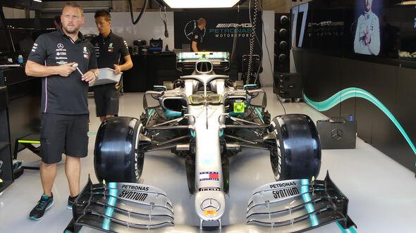 Mercedes - GP Belgien - Spa-Francorchamps - Formel 1 - Donnerstag - 29.8.2019