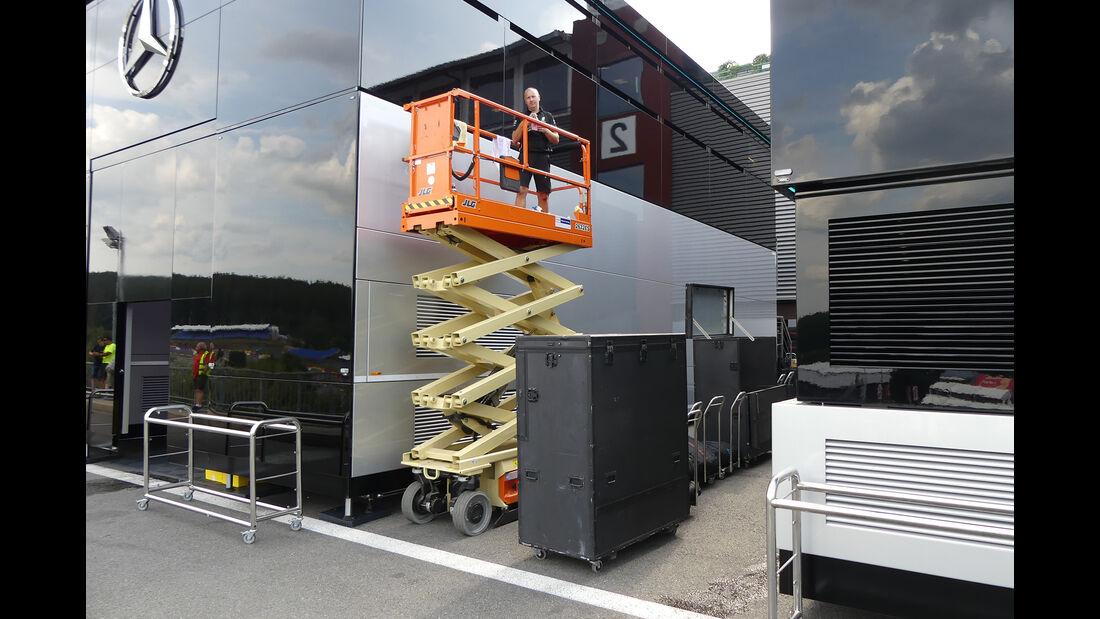 Mercedes - GP Belgien - Spa-Francorchamps - Formel 1 - Mittwoch - 28.8.2019