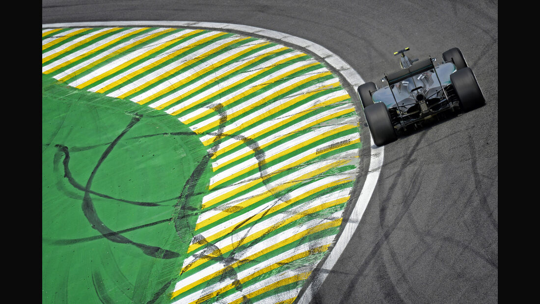 Mercedes - GP Brasilien- 15. November 2015