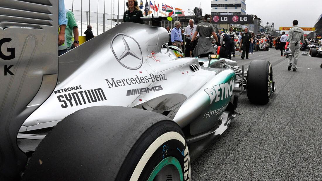 Mercedes - GP Brasilien - 2013