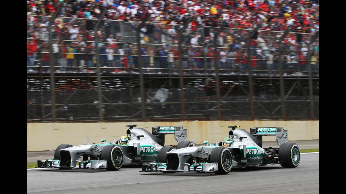 Mercedes - GP Brasilien 2013