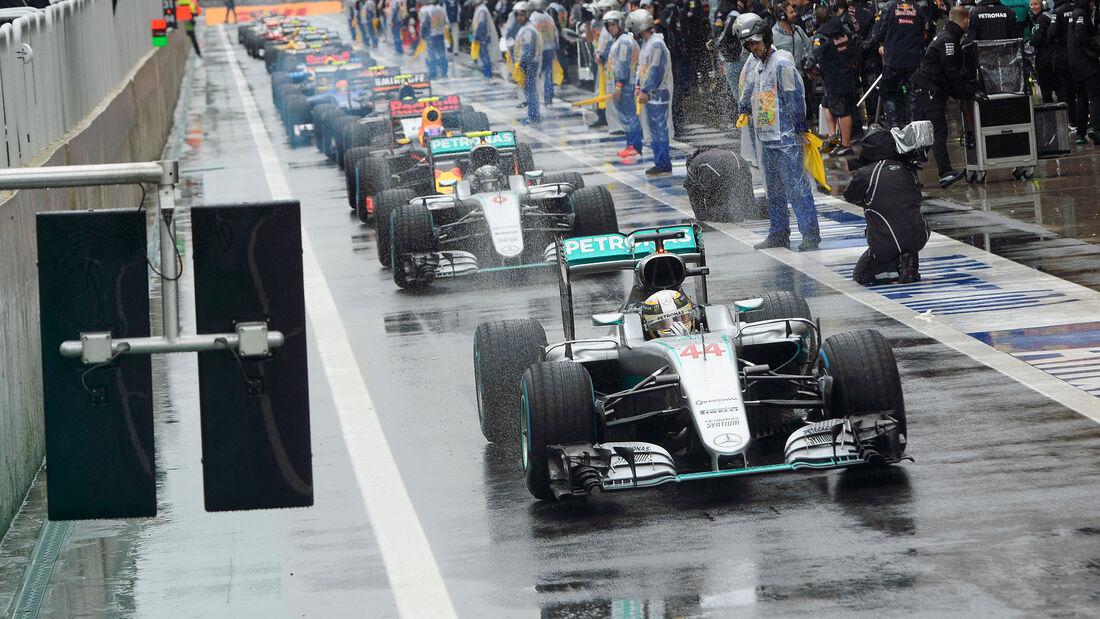 Mercedes - GP Brasilien 2016