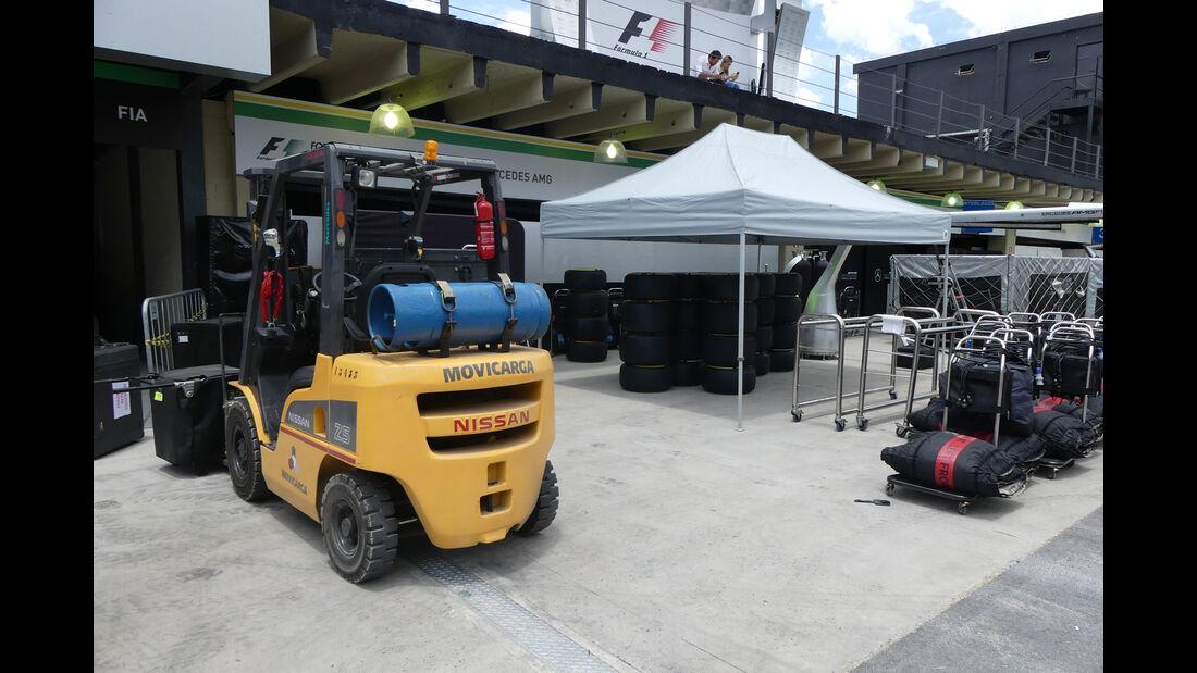 Mercedes - GP Brasilien 2016 - Sao Paulo - Interlagos - Mittwoch - 9.11.2016