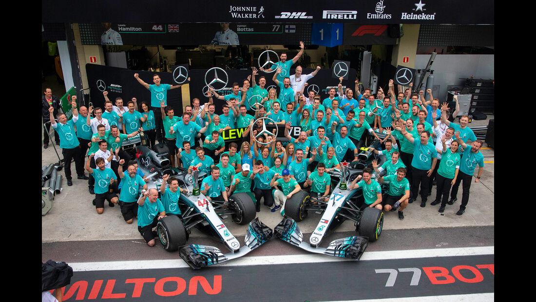 Mercedes - GP Brasilien 2018