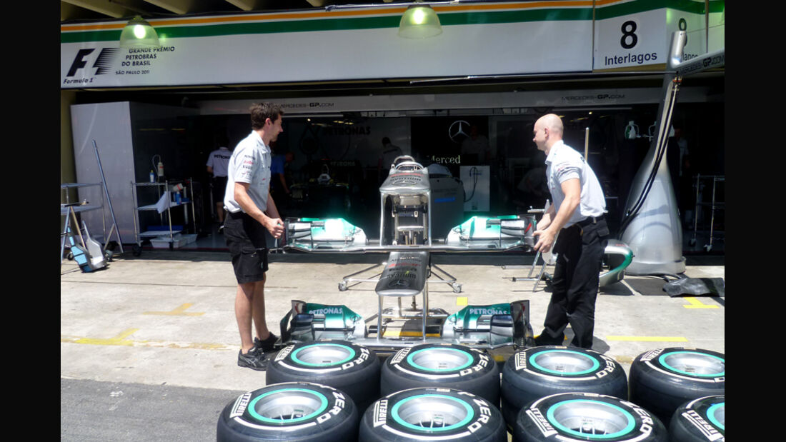 Mercedes - GP Brasilien - 24. November 2011