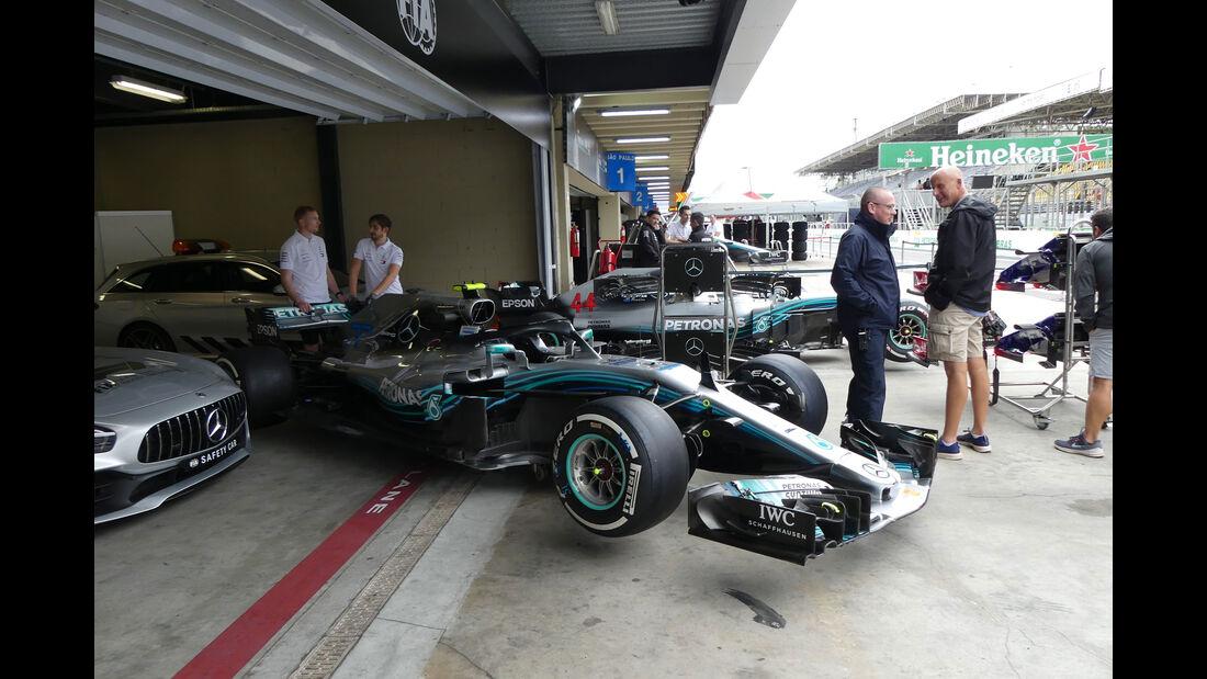 Mercedes - GP Brasilien - Interlagos - Formel 1 - Donnerstag - 8.11.2018