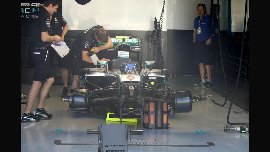 Mercedes - GP Brasilien - Interlagos - Freitag - 11.11.2016
