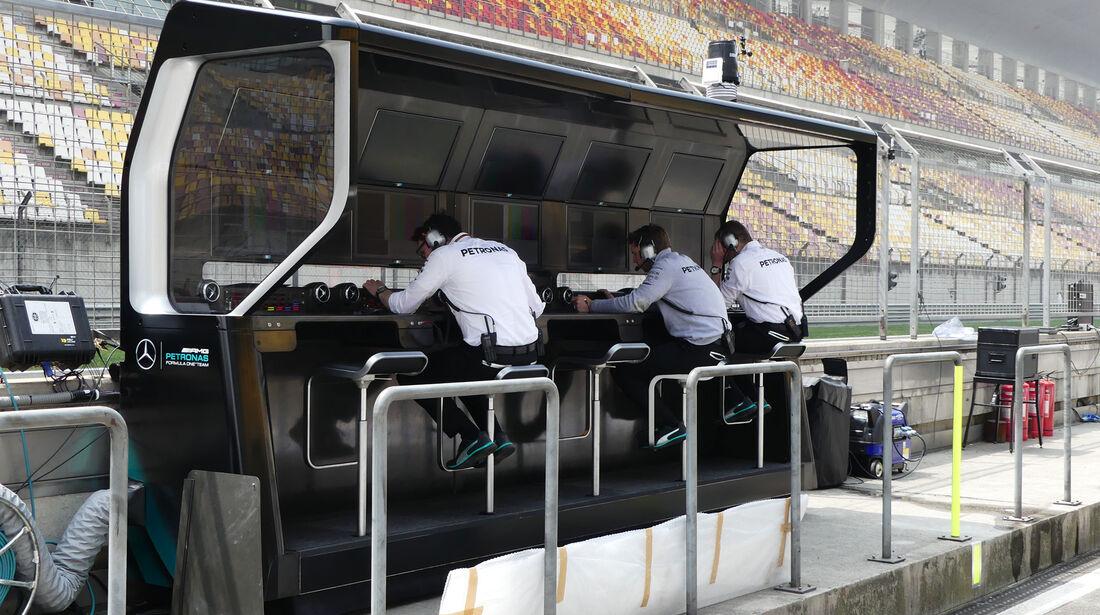 Mercedes - GP China - Shanghai - Donnerstag - 14.4.2016