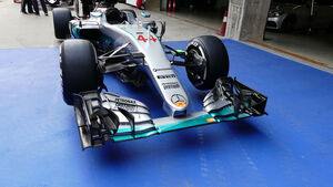 Mercedes - GP China - Shanghai - Donnerstag - 14.4.2016