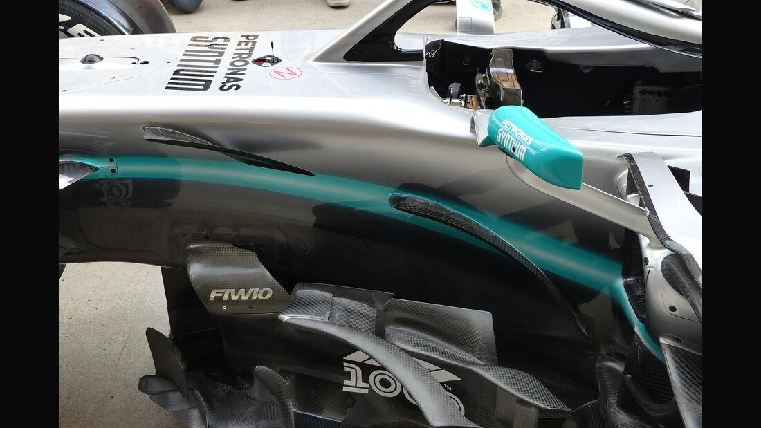 Mercedes - GP China - Shanghai - Formel 1 - Donnerstag - 11.4.2019