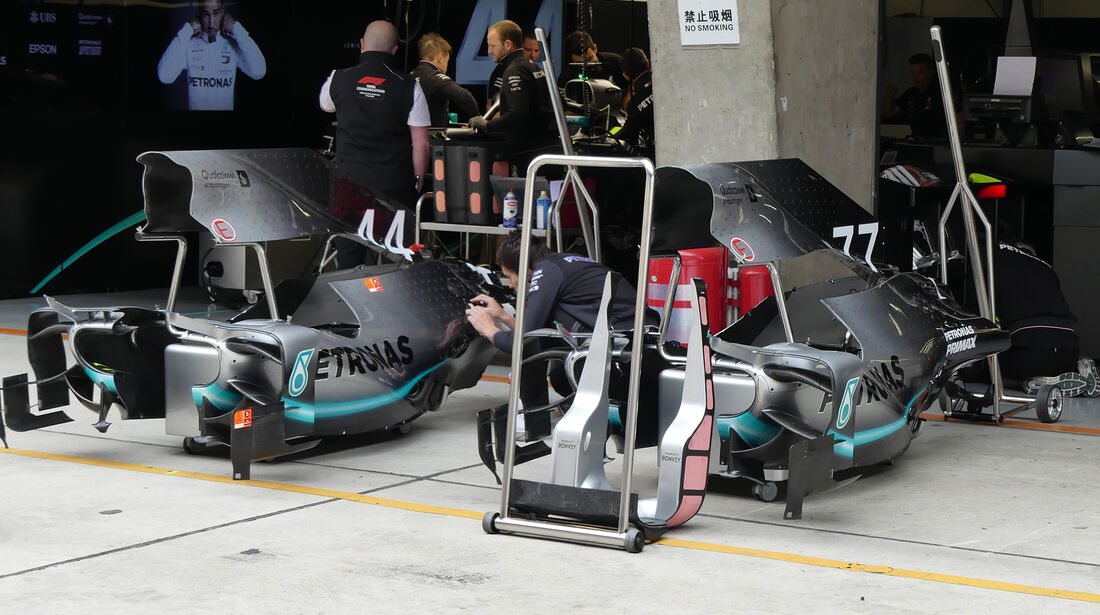 Mercedes - GP China - Shanghai - Formel 1 - Donnerstag - 11.4.2019