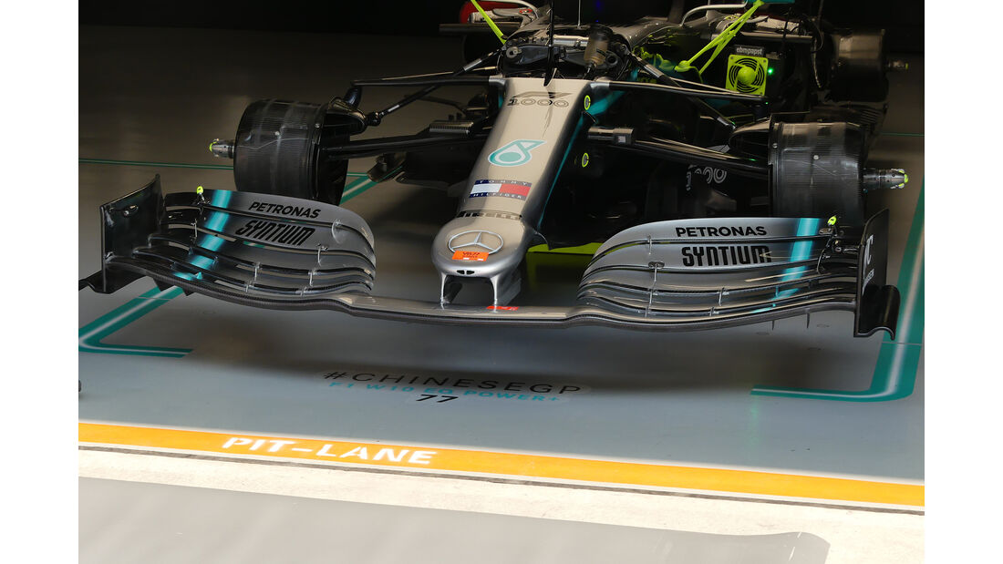 Mercedes - GP China - Shanghai - Formel 1 - Freitag - 12.4.2019