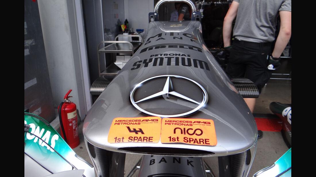 Mercedes GP Deutschland 2013