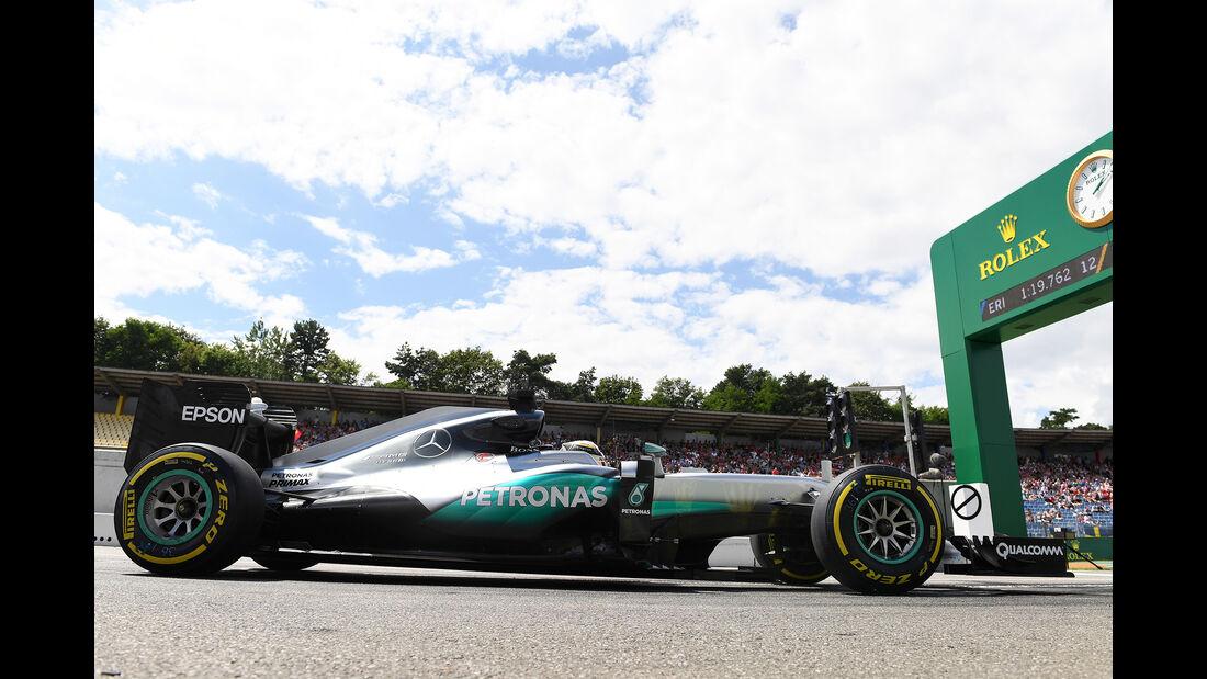 Mercedes - GP Deutschland 2016