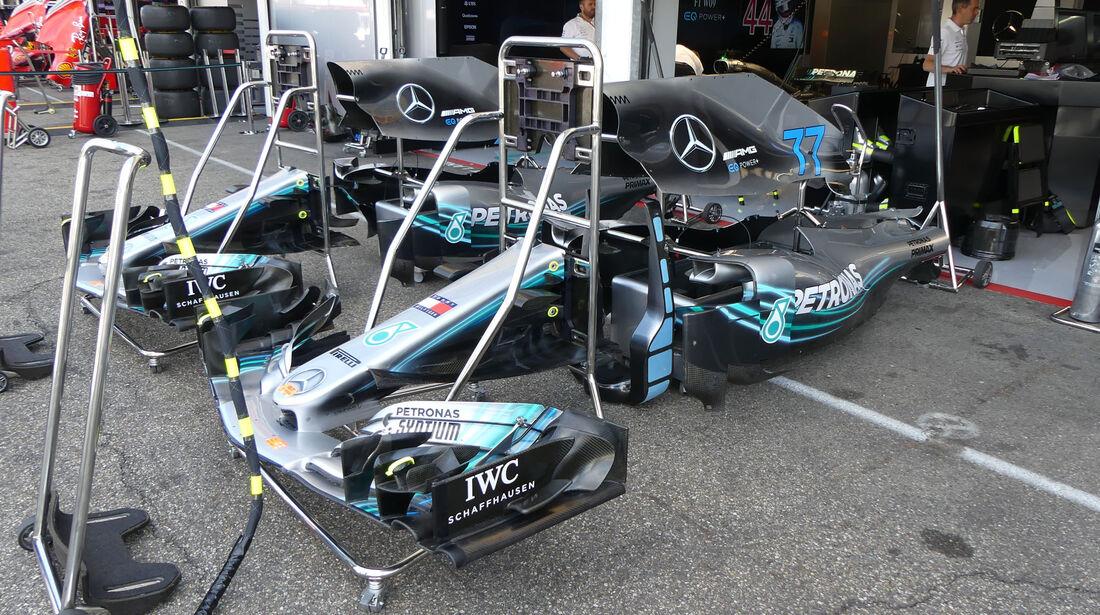 Mercedes - GP Deutschland - Hockenheim - Formel 1 - Freitag - 20.7.2018