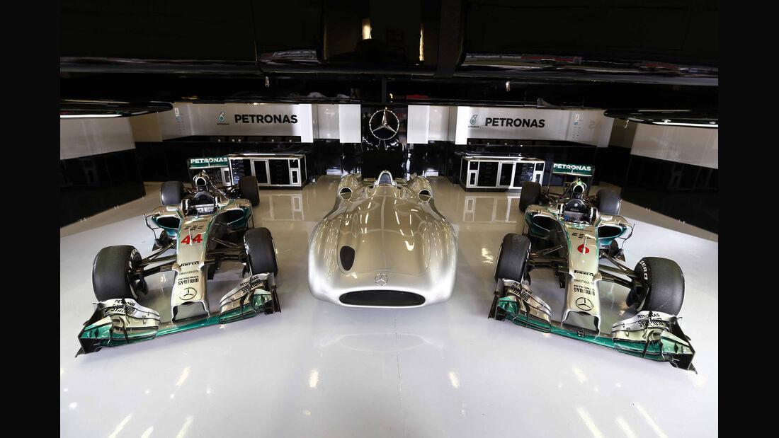 Mercedes - GP England 2014