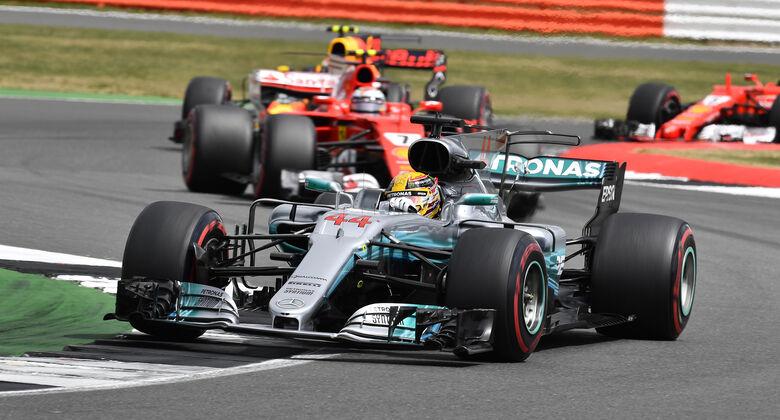 Mercedes - GP England 2017