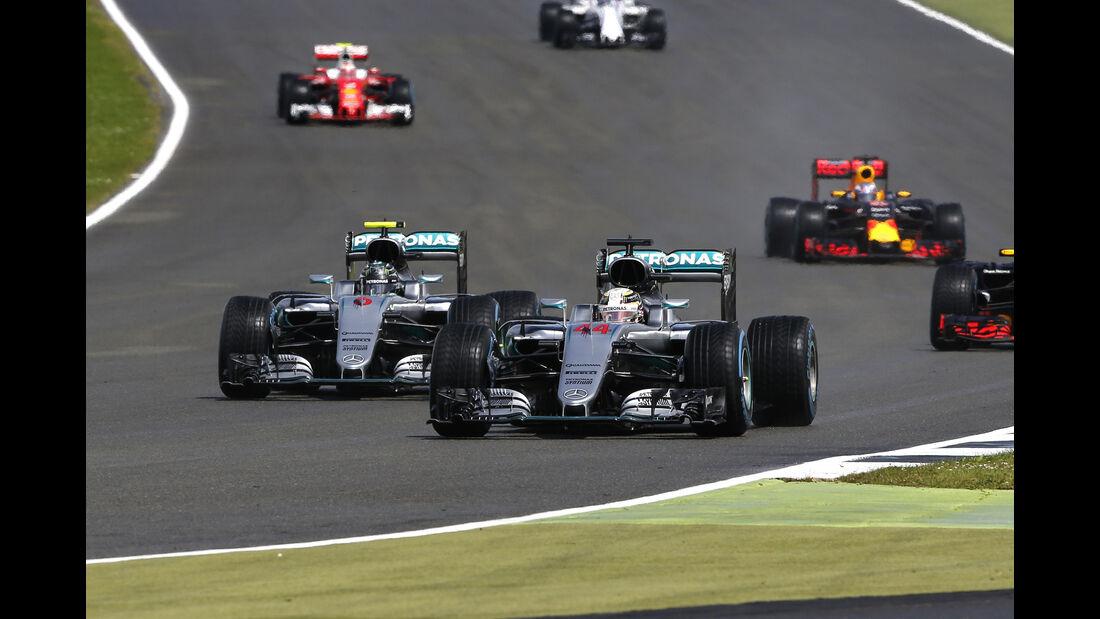Mercedes - GP England - Formel 1 - 2016