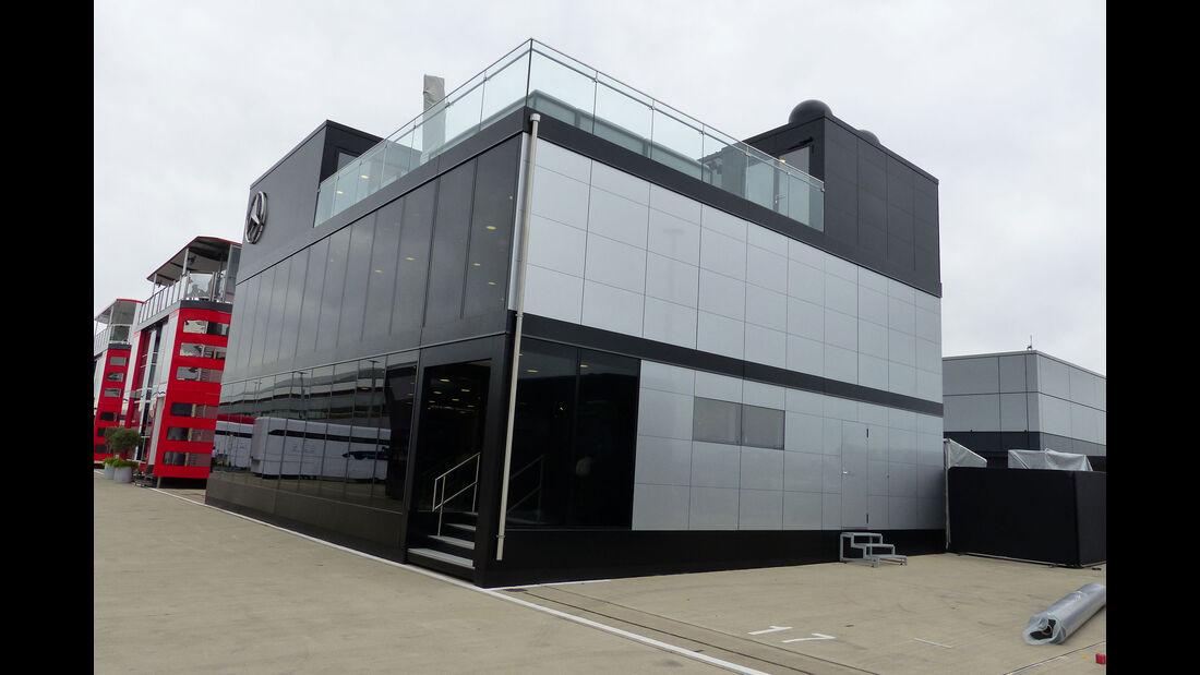 Mercedes - GP England - Silverstone - Donnerstag - 2.7.2015