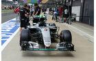 Mercedes - GP England - Silverstone - Formel 1 - Donnerstag - 7.7.2016