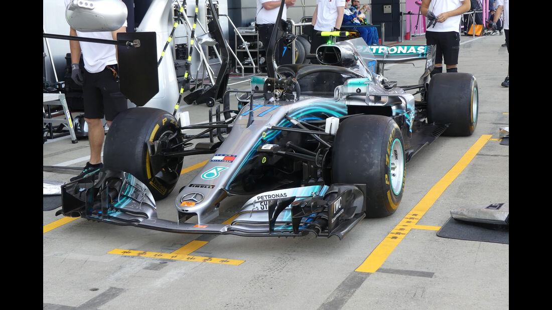 Mercedes - GP England - Silverstone - Formel 1 - Freitag - 6.7.2018