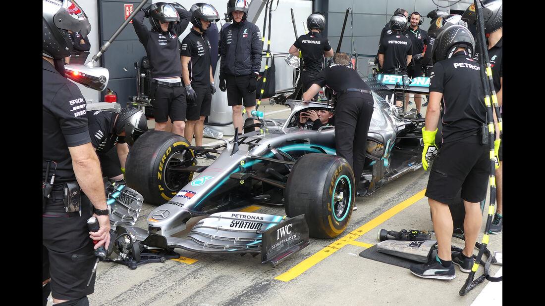 Mercedes - GP England - Silverstone - Freitag - 12.7.2019