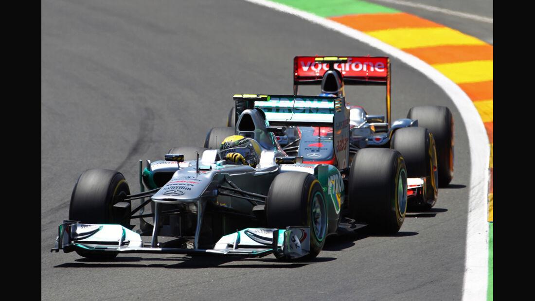 Mercedes GP Europa Valencia 2011