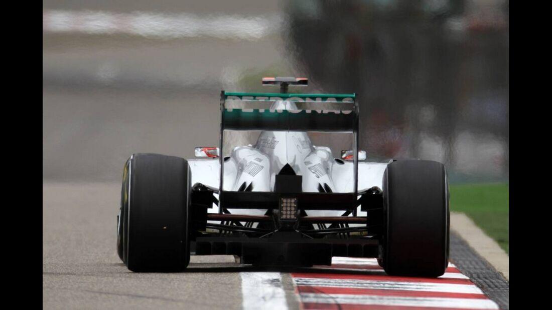Mercedes GP Formel 1 GP China 2011