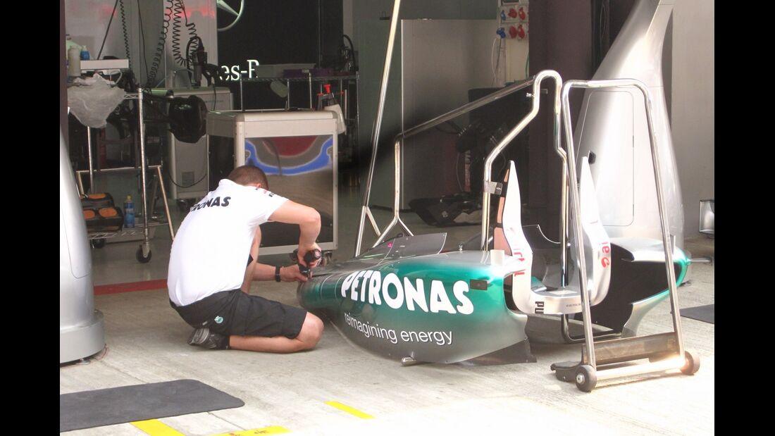 Mercedes GP  - Formel 1 - GP Indien - 25. Oktober 2012