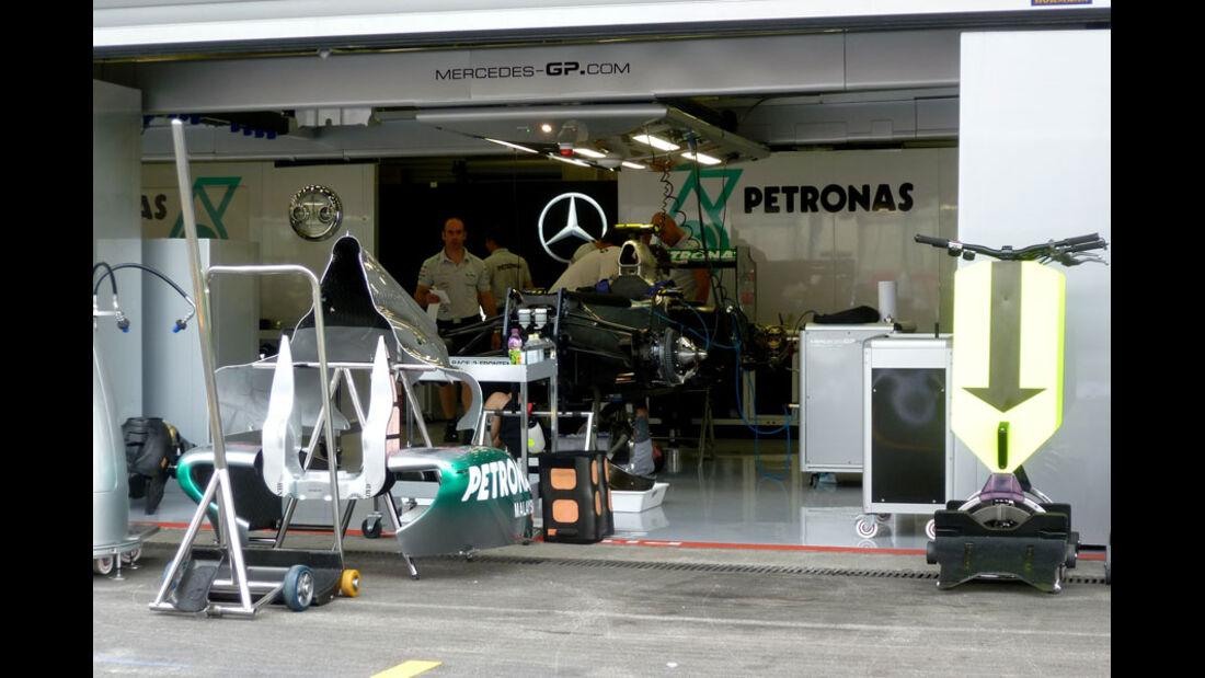 Mercedes GP - GP Belgien - 25. August 2012