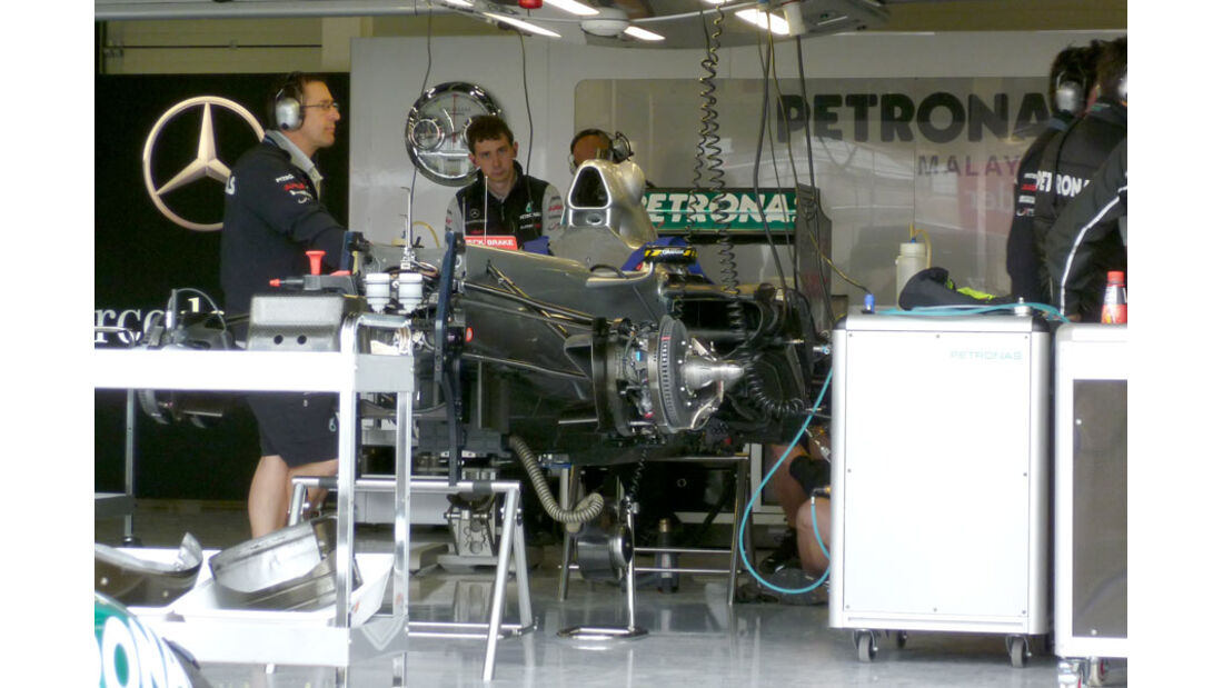 Mercedes GP - GP England - Silverstone - Do. 7. Juli 2011