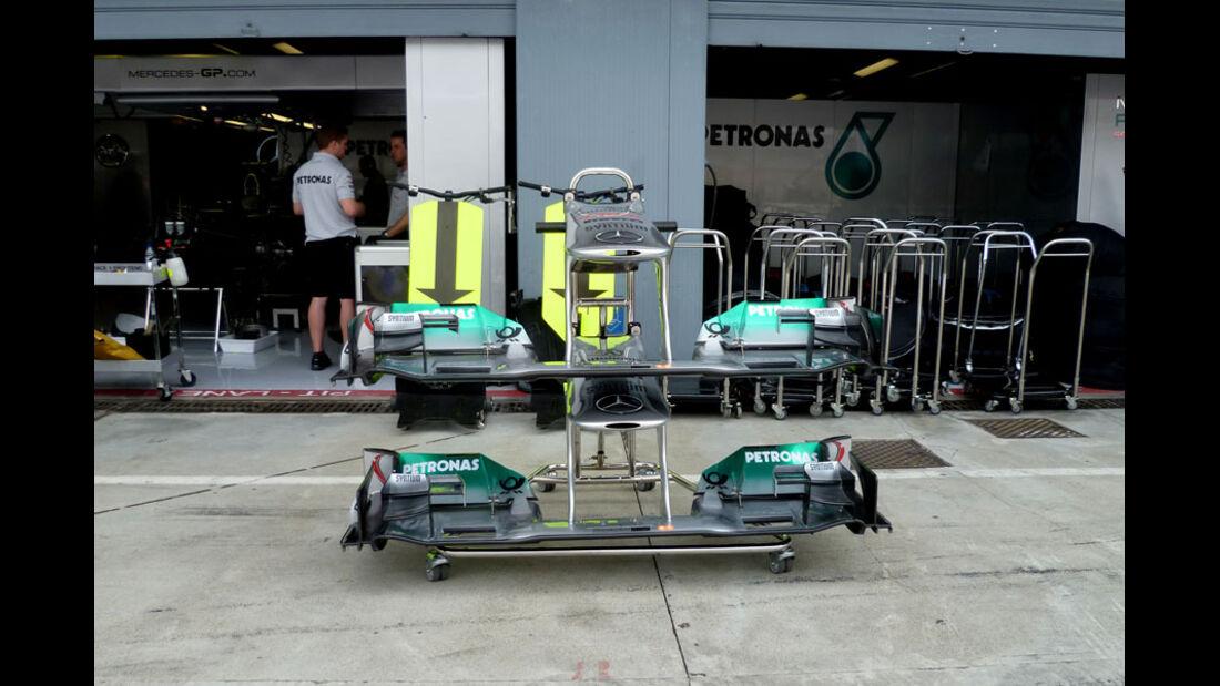 Mercedes GP - GP Italien - 8. September 2011