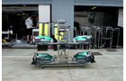 Mercedes GP - GP Italien - 8. September 2011