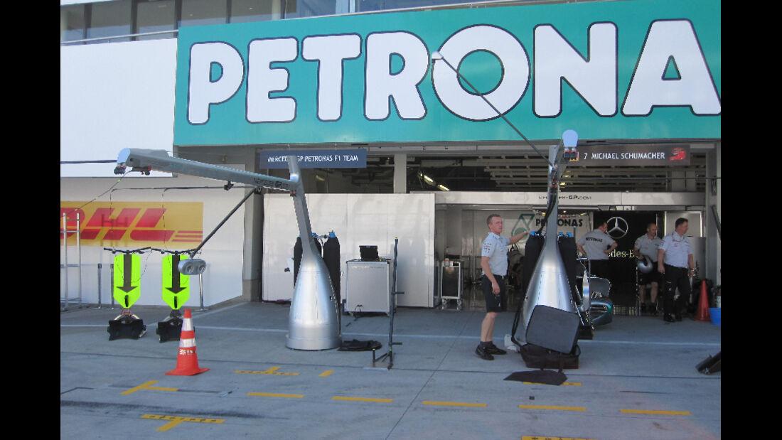 Mercedes GP - GP Japan - Suzuka - 6. Oktober 2011