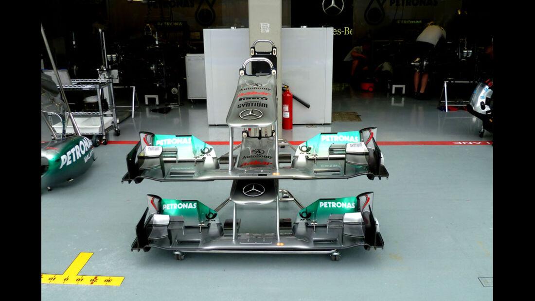 Mercedes GP - GP Singapur - 22. September 2011