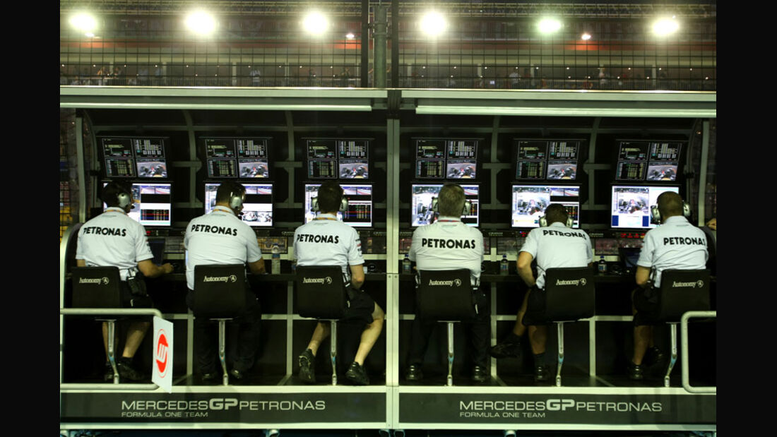 Mercedes GP - GP Singapur - 24. September 2011