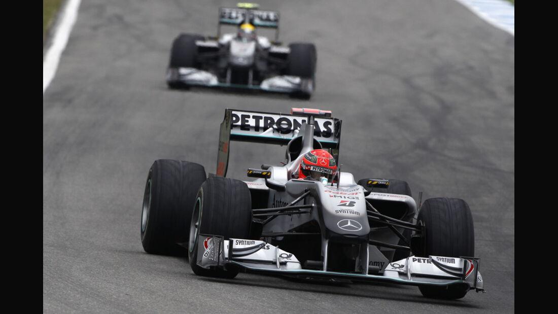 Mercedes GP Hockenheim