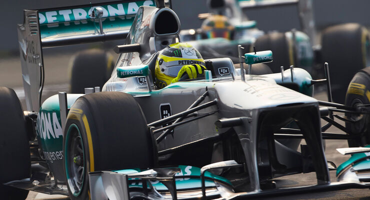 Mercedes - GP Indien 2013